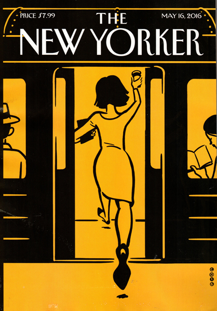 New Yorker Magazine Subscription Cover
