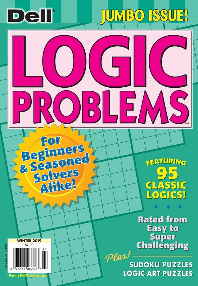 Dell Logic Problems Magazine Cover