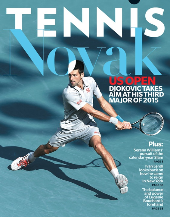 Tennis Magazine Cover