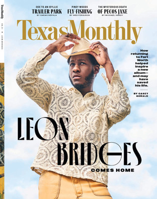 Texas Monthly Magazine Subscription Cover