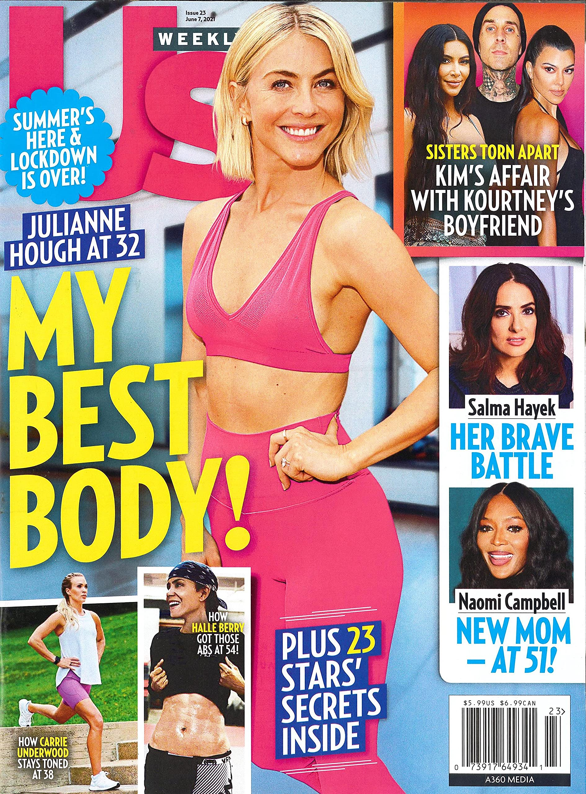 US Weekly Magazine Cover