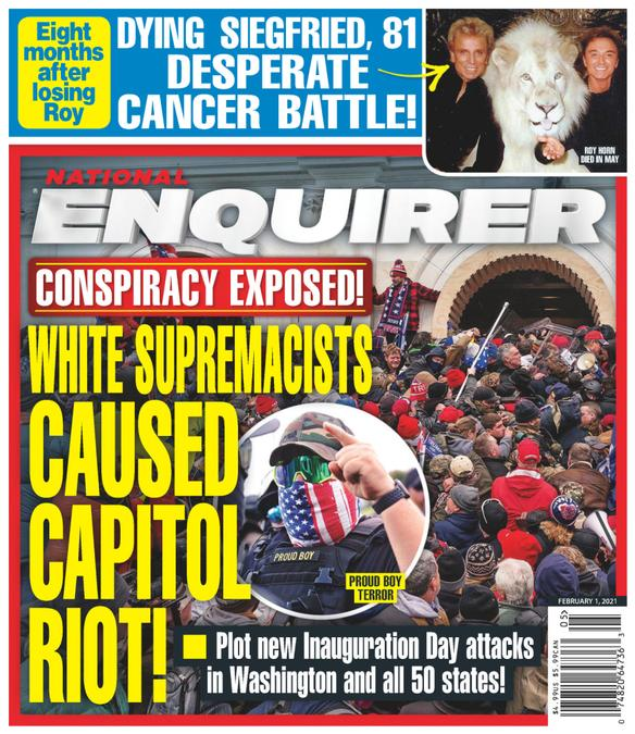 National Enquirer Magazine Cover