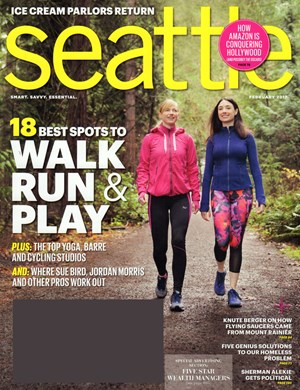 Seattle Magazine Magazine Cover