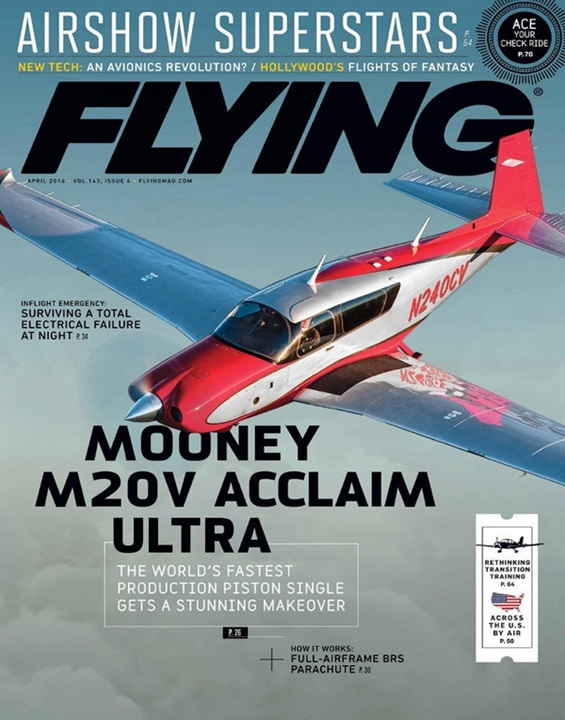 Flying Magazine Cover