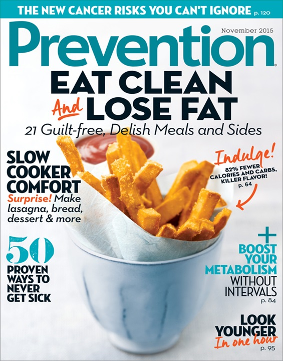 Prevention Magazine Cover