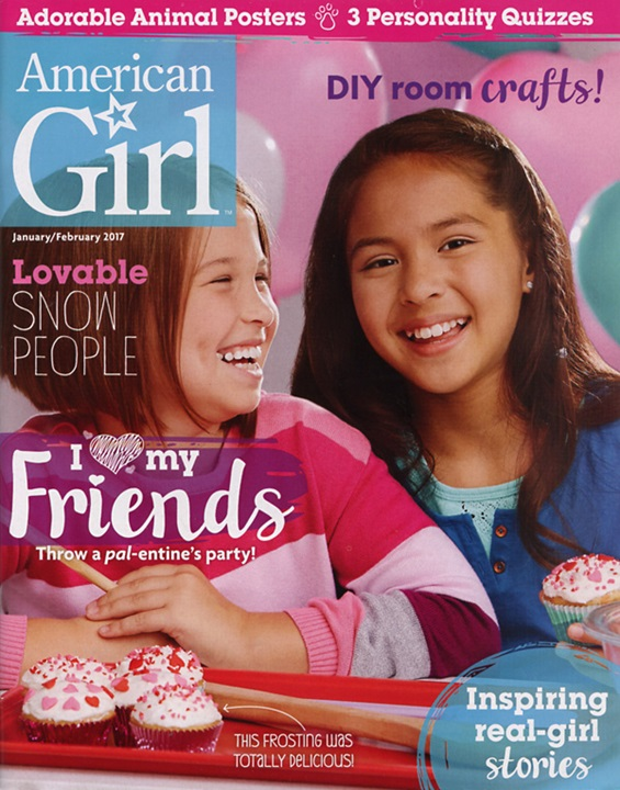 American Girl Magazine Cover
