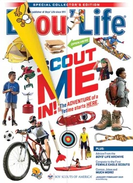 Boys Life Magazine Cover
