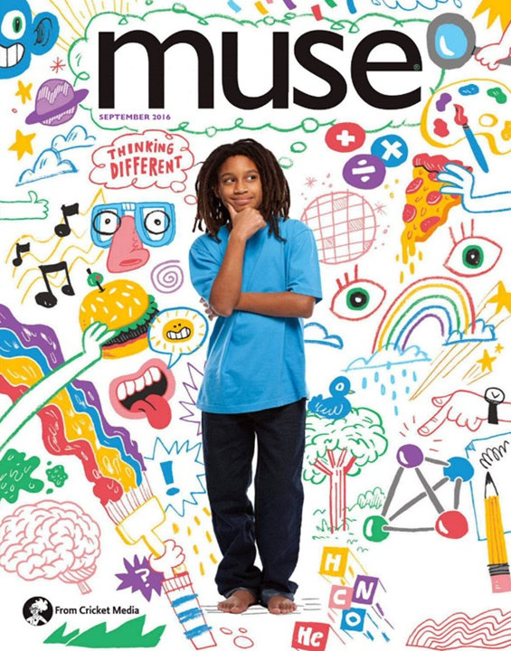 Muse Magazine Cover