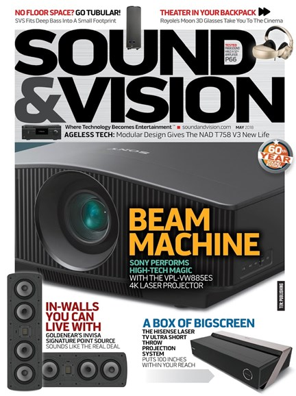 Sound & Vision Magazine Cover
