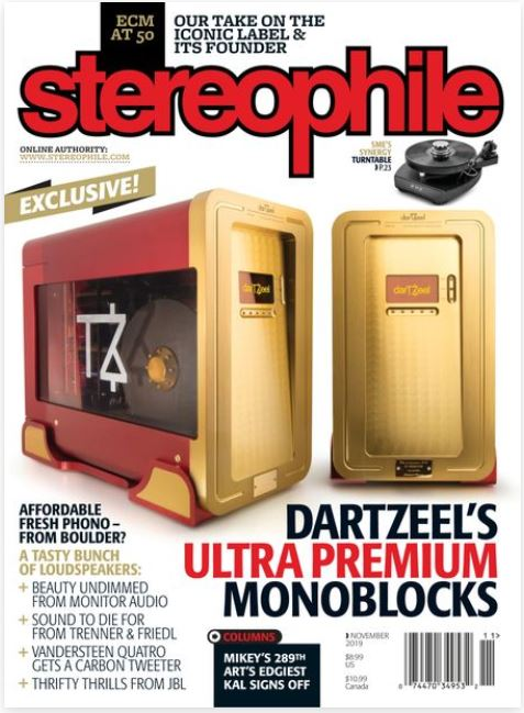 Stereophile  Magazine Cover