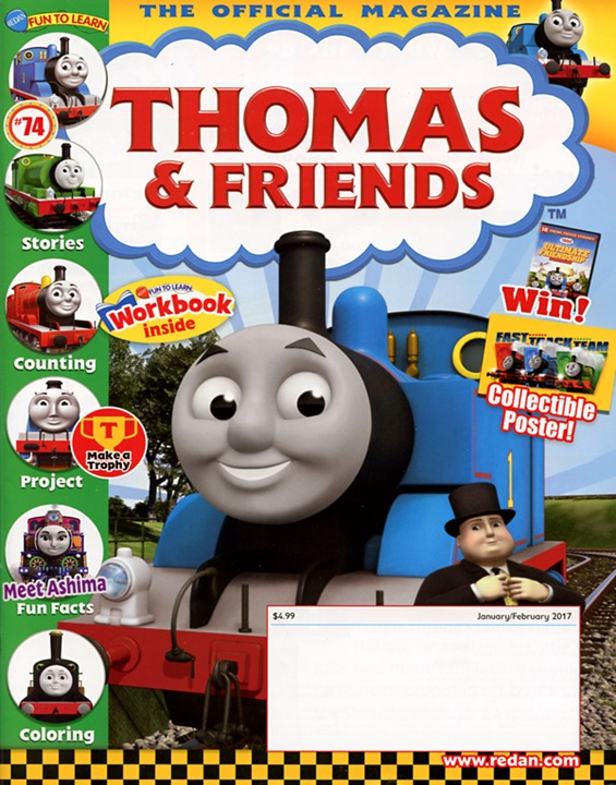 Thomas & Friends Magazine Subscription Cover