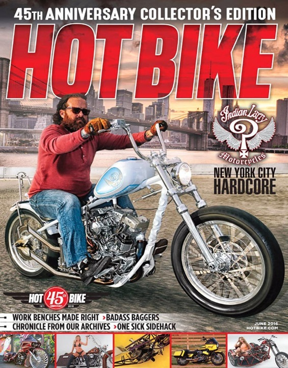 Hot Bike  Magazine Cover