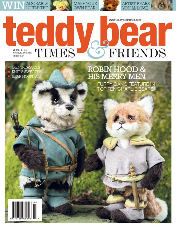 Teddy Bear Times & Friends (UK) Magazine Cover