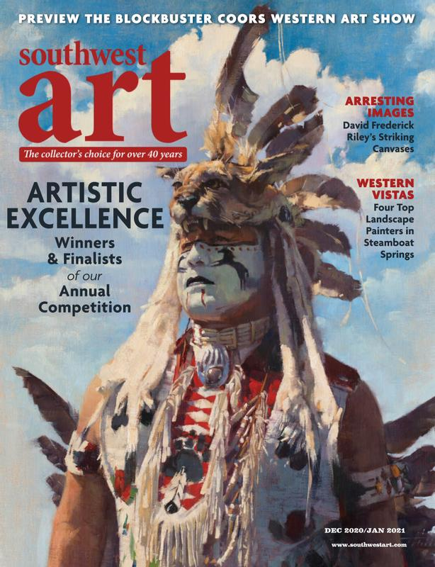 Southwest Art Magazine Cover