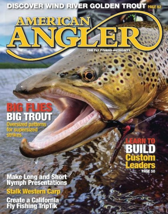 American Angler Magazine Cover