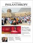 Chronicle of Philanthropy Magazine Cover