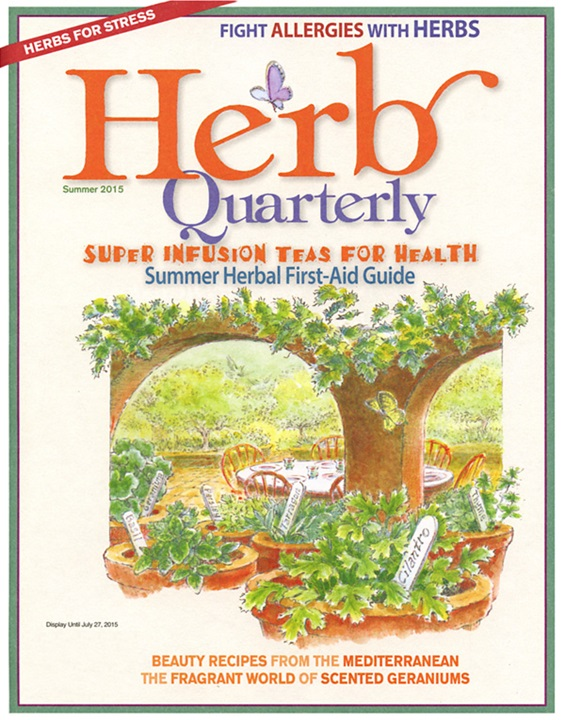 Herb Quarterly Magazine Cover