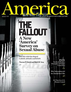 America The Jesuit Review Magazine Cover