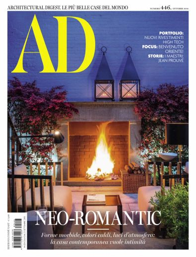 Architectural Digest Italia Magazine Cover