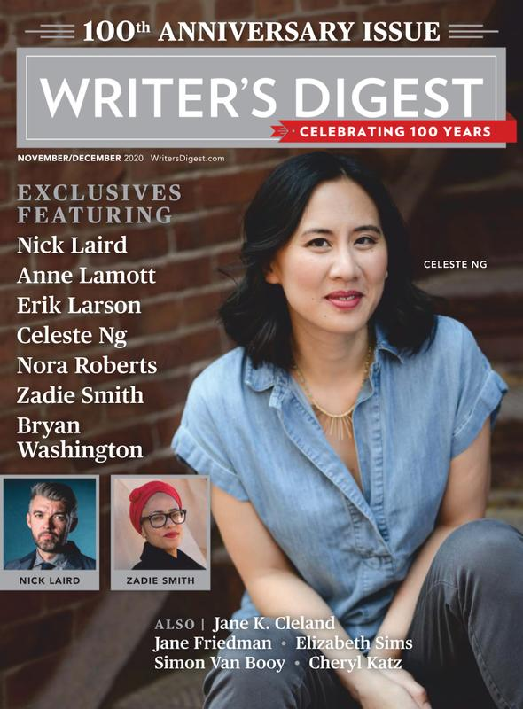 Writers Digest Magazine Cover