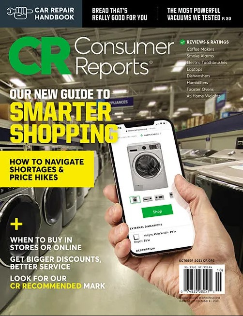 Consumer Reports (w/ Buying Guide) Magazine Subscription Cover