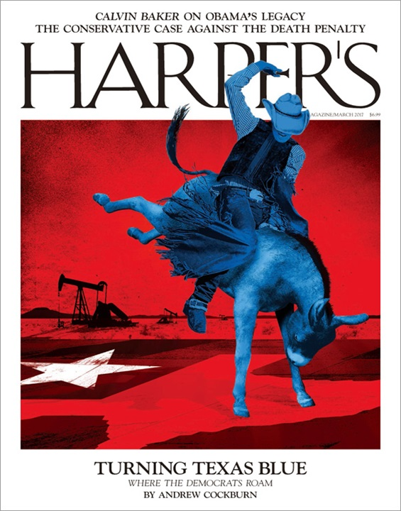 Harper's Magazine Magazine Subscription Cover