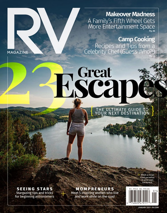 RV Magazine (merged Trailer Life & MotorHome) Magazine Subscription Cover