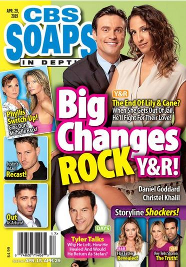 CBS Soaps in Depth Magazine Cover