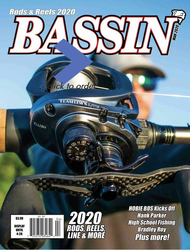 Bassin' Magazine Cover