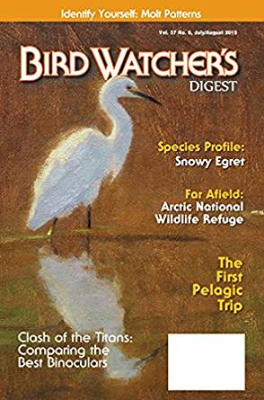 Bird Watchers Digest Magazine Cover