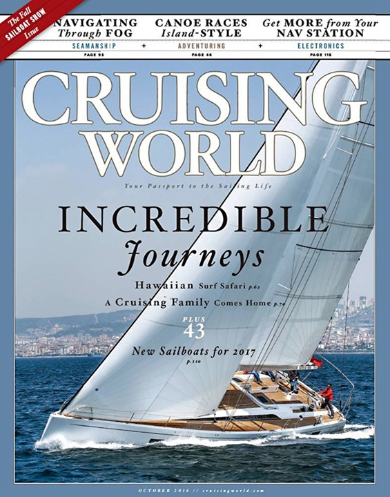 Cruising World  Magazine Cover