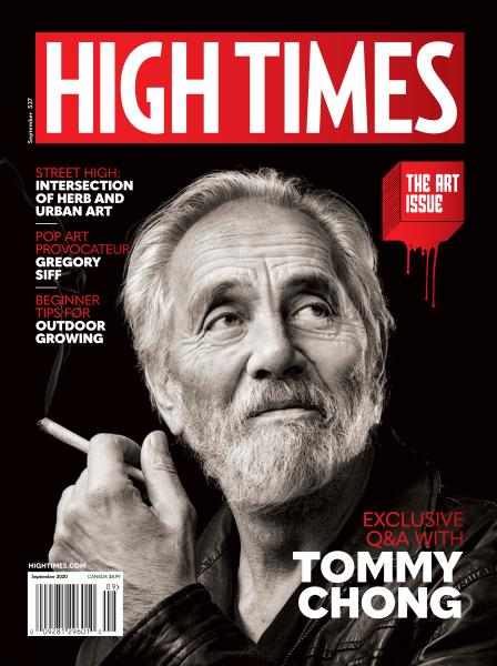 High Times Magazine Cover