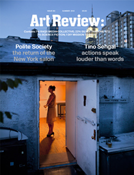 ArtReview (UK) Magazine Cover