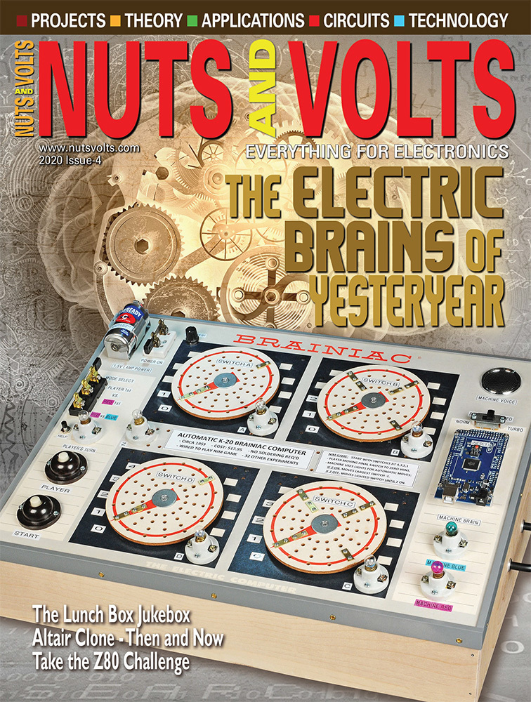 Nuts & Volts - Print + Digital Magazine Cover
