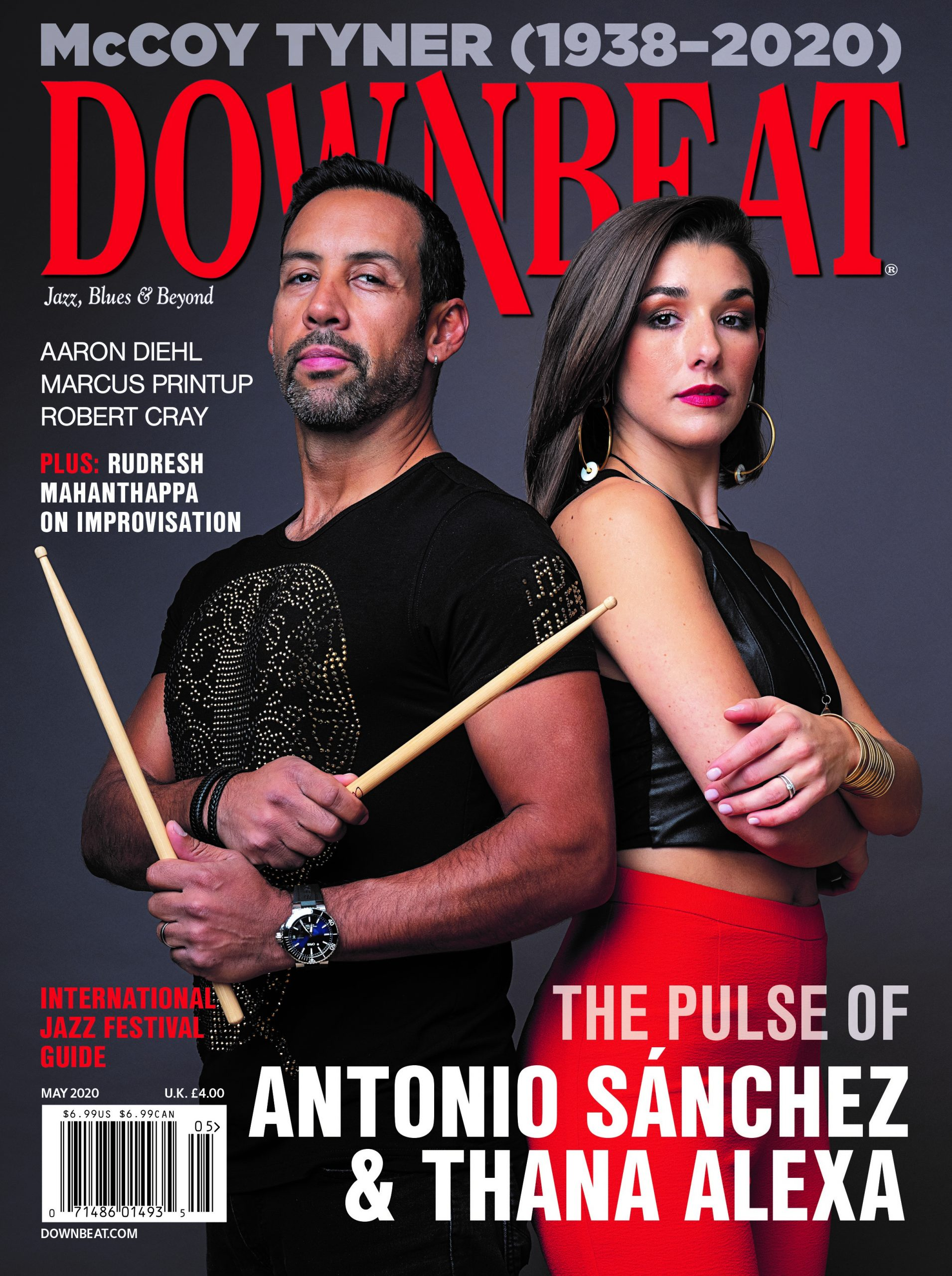 Downbeat Magazine Cover