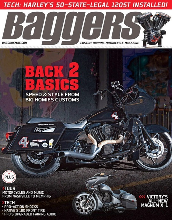 Baggers  Magazine Cover