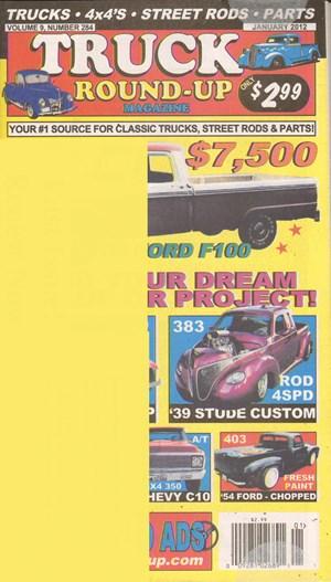 Truck Round-up Magazine Cover