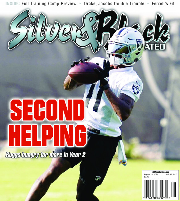 Silver & Black Illustrated Magazine