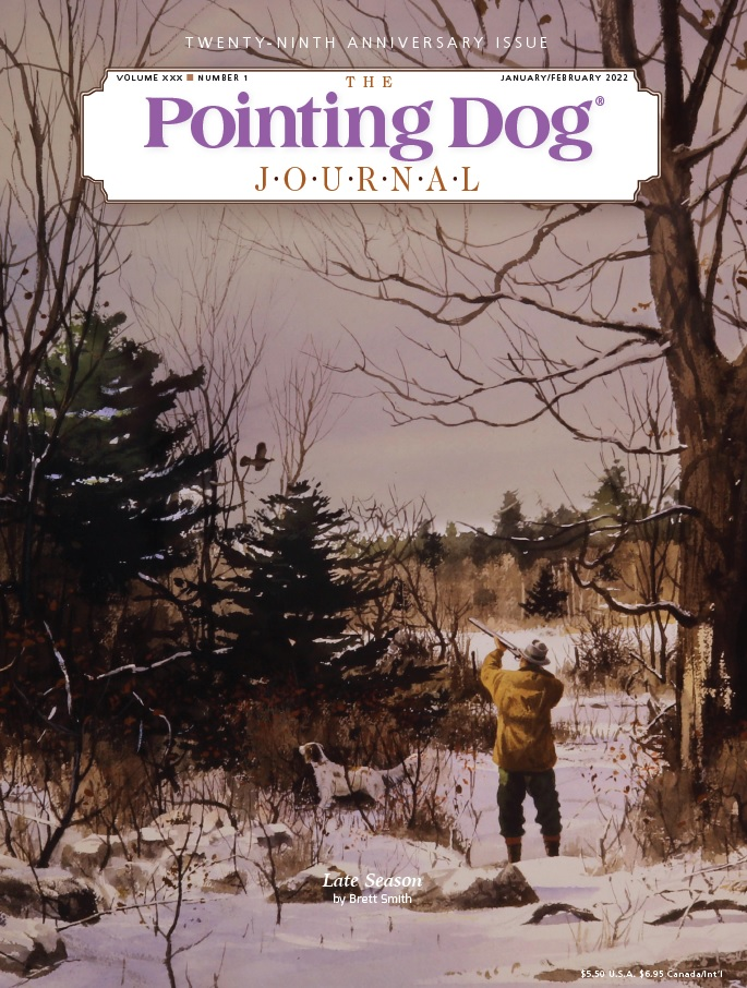 Pointing Dog Journal Magazine Cover