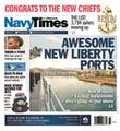 Navy Times Magazine Cover