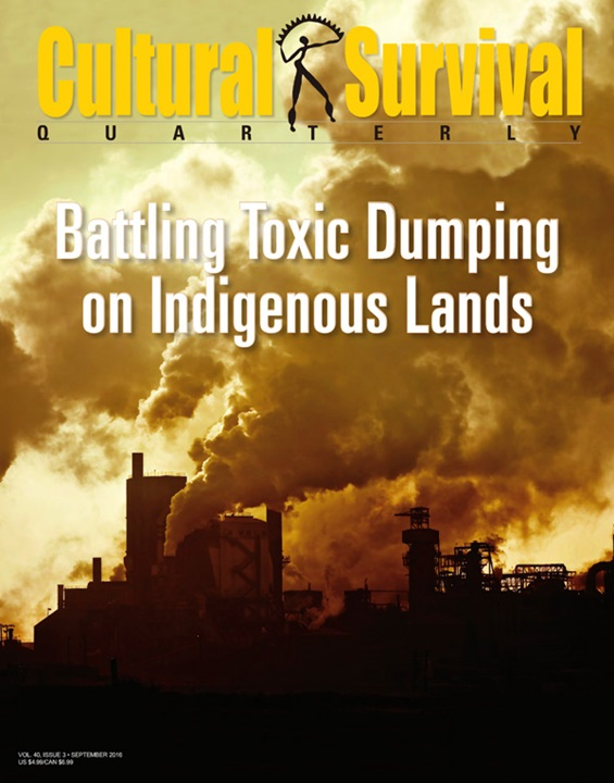 Cultural Survival Quarterly Magazine