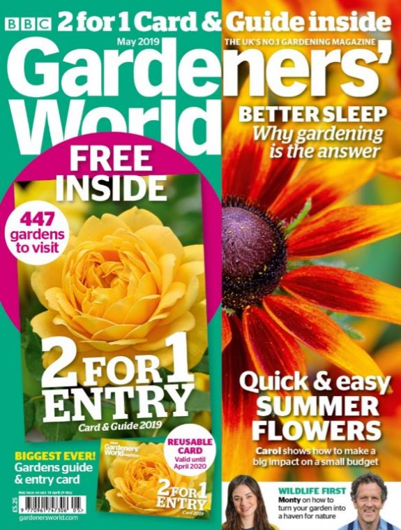 BBC Gardeners World (UK) Magazine