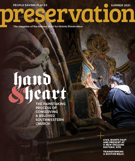 Preservation Magazine Cover