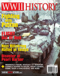 WWII History Magazine Cover