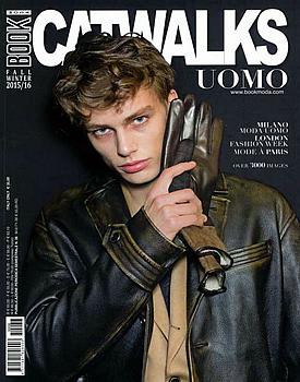 Book Moda Uomo Magazine Cover