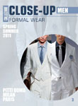 Collezioni Close Up:  Men Formal Wear Milan / Paris Magazine