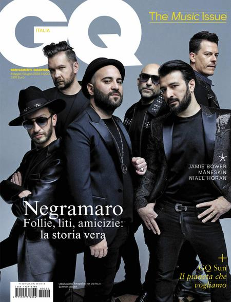 GQ Italy Magazine Cover
