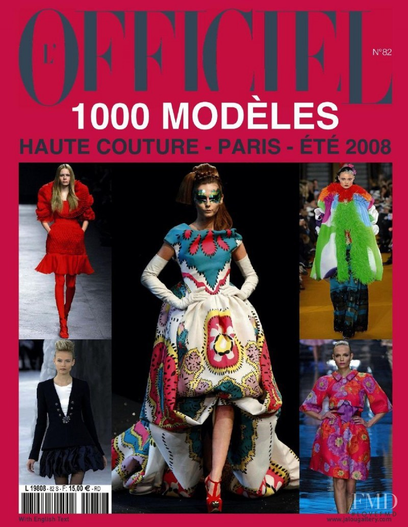 L'Officiel 1000 models Haute Couture  Magazine