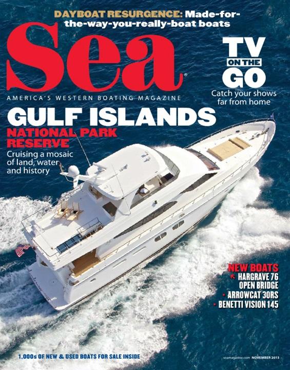 Sea Magazine Cover