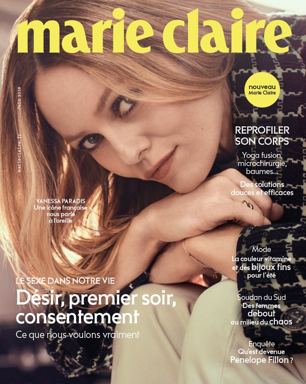 Marie Claire French  Magazine